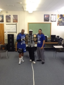 Pic with Guest speakers Lumumba and Derrick